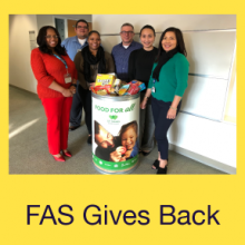 FAS Gives Back