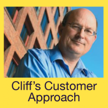 Cliff's Customer Approach