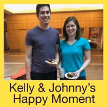 Kelly & Johnny's Happy Moment