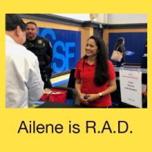 Ailene is R.A.D.