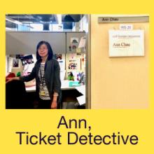 Ann, Ticket Detective