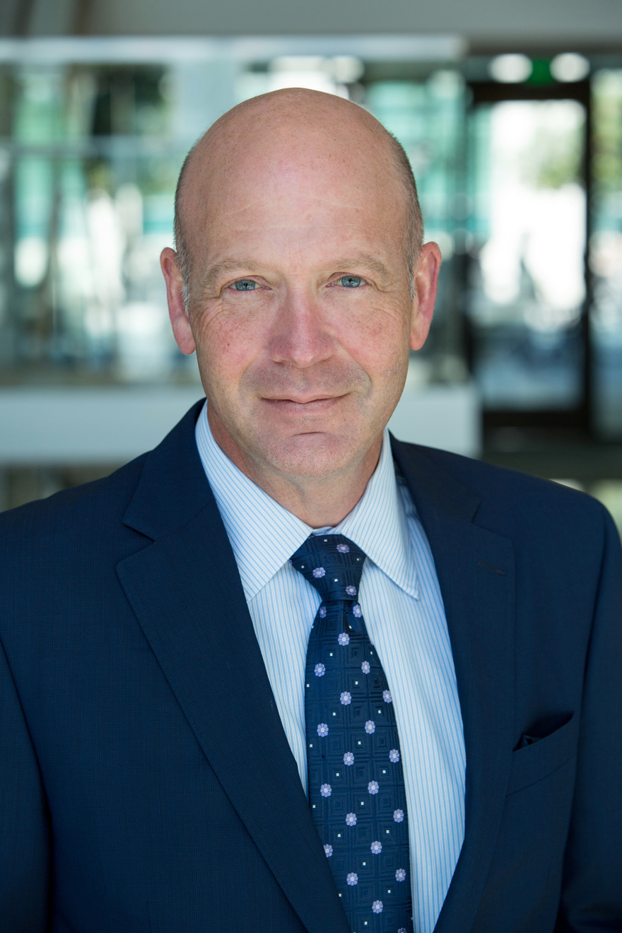 Image of Senior Vice Chancellor for UCSF Paul Jenny.
